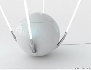 Sputnik LED lampa s úložným prostorem