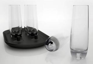 Nepřevrhnutelné sklenice
